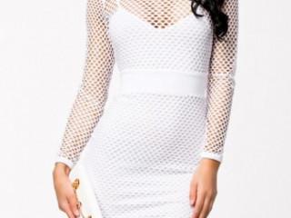 Vestido branco festa