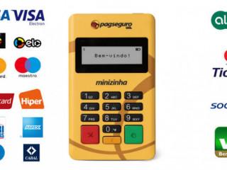 Máquina de Cartão Minizinha PagSeguro
