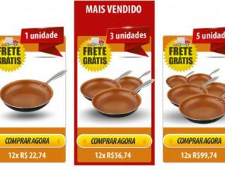Frigideira-Super Chef Titanium mais querida do brasil