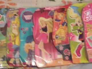 Kit 8 livros e cd room infantil menina