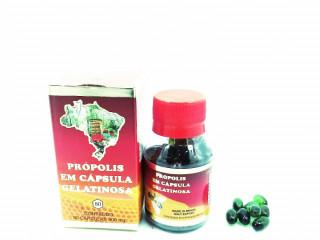 Própolis Verde 400mg 90 Cápsulas Gelatinosas cx com 6 unds.