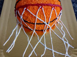 Bolo decoração basquete ball